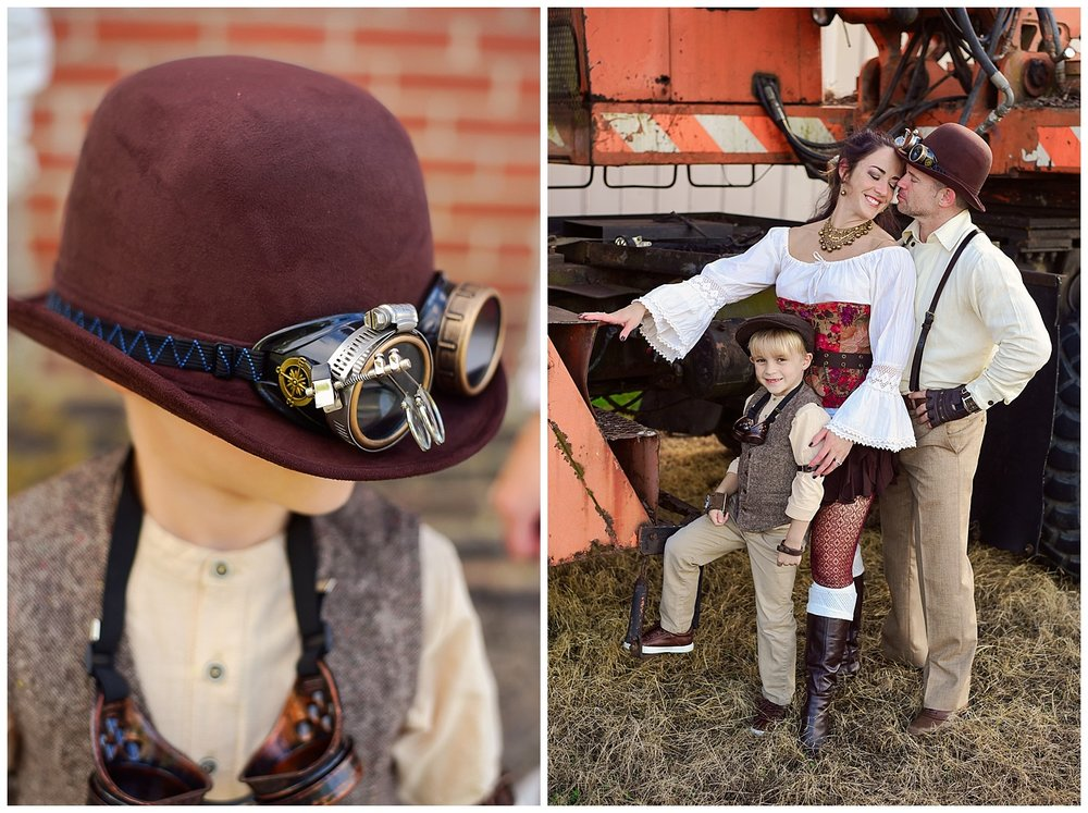 Steampunk themed photo shoot