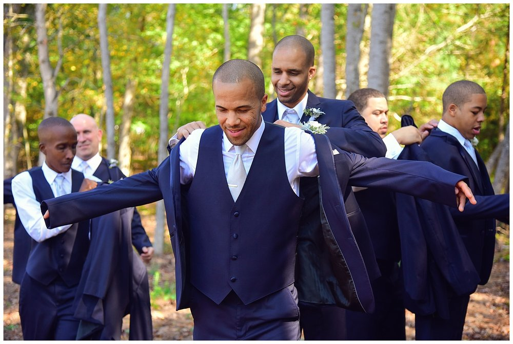 Barn of Chapel Hill Wedding groomsmen