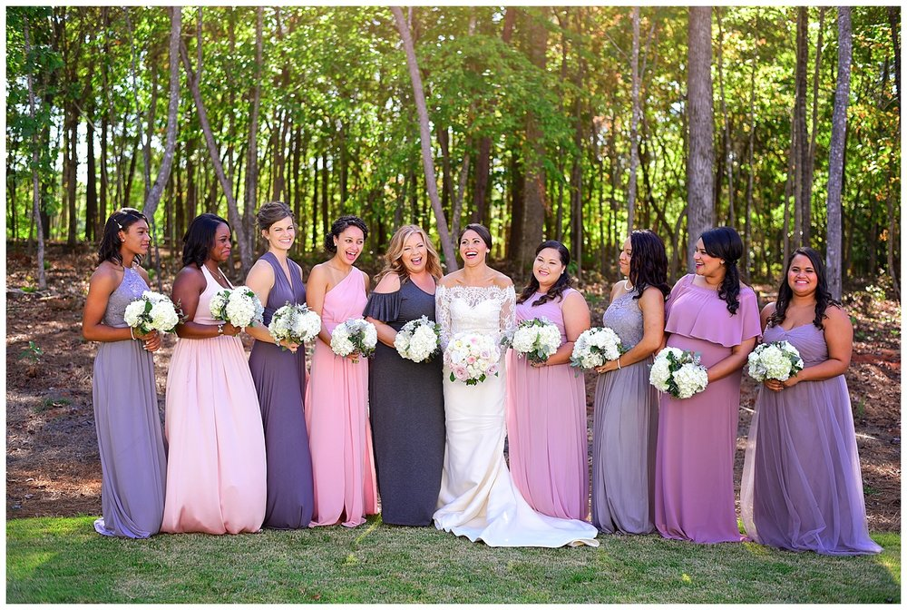 Barn of Chapel Hill Wedding Bridesmaids