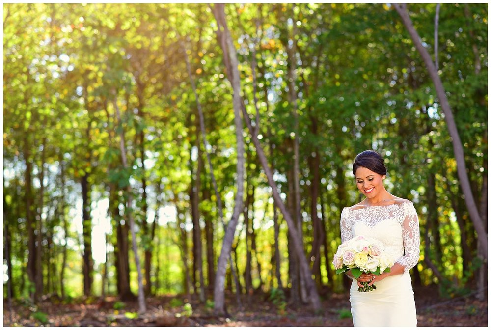 Barn of Chapel Hill bride