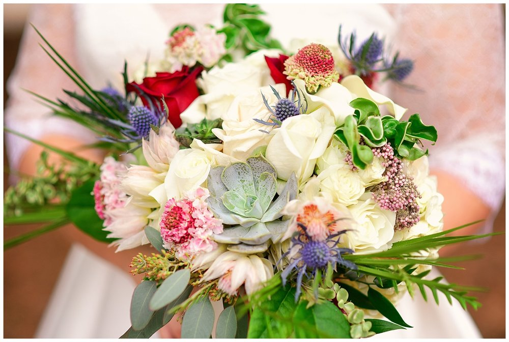Bloomworks wedding bouquet