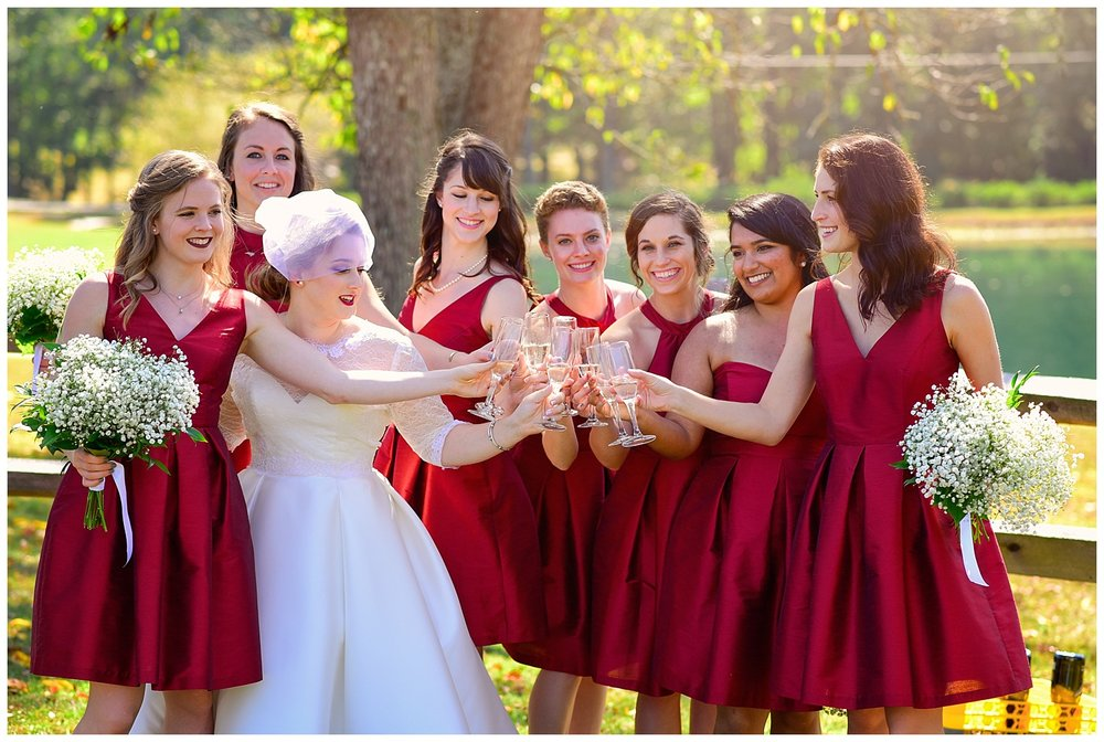 Oaks of Salem Wedding