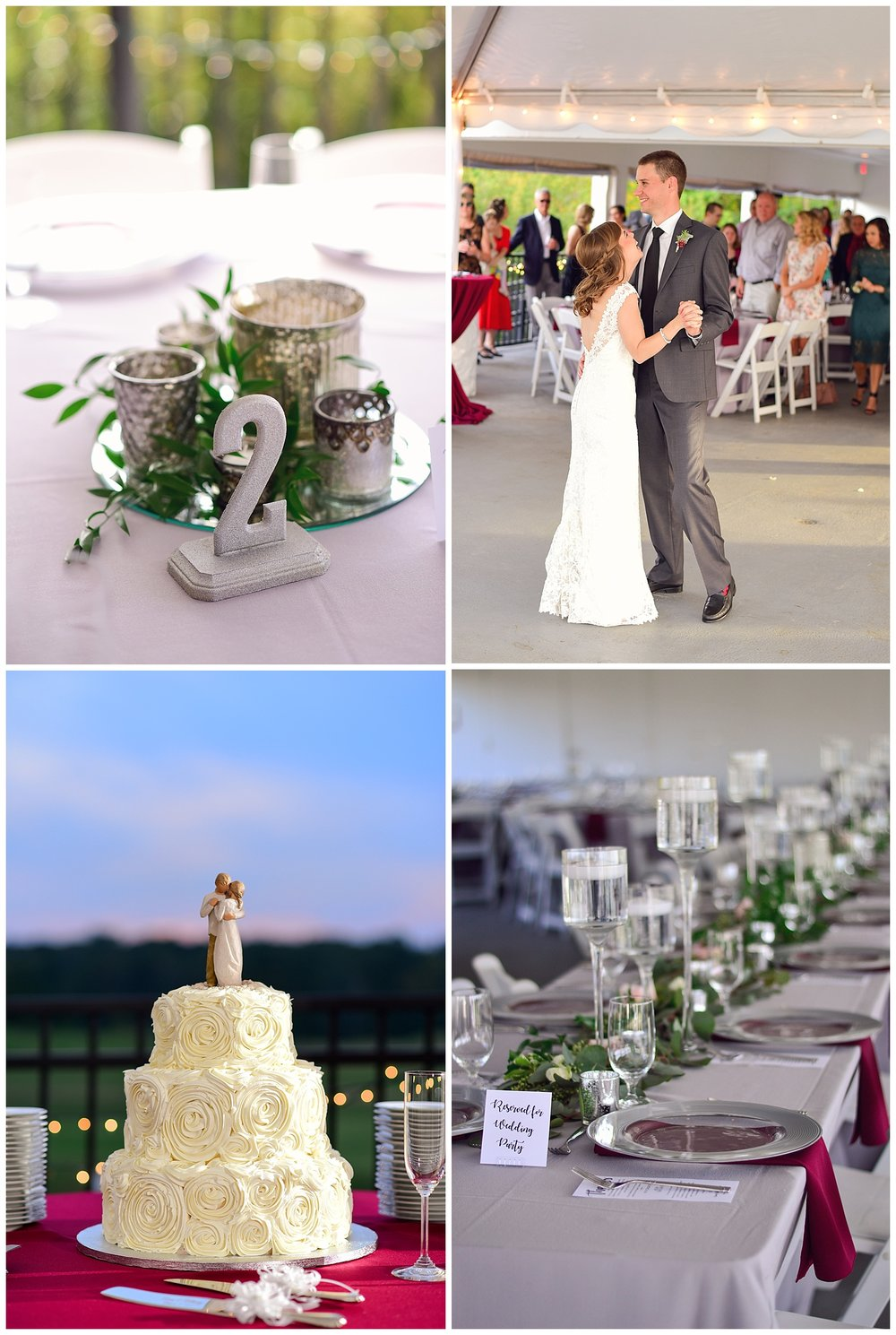 Golf Course Wedding Reception