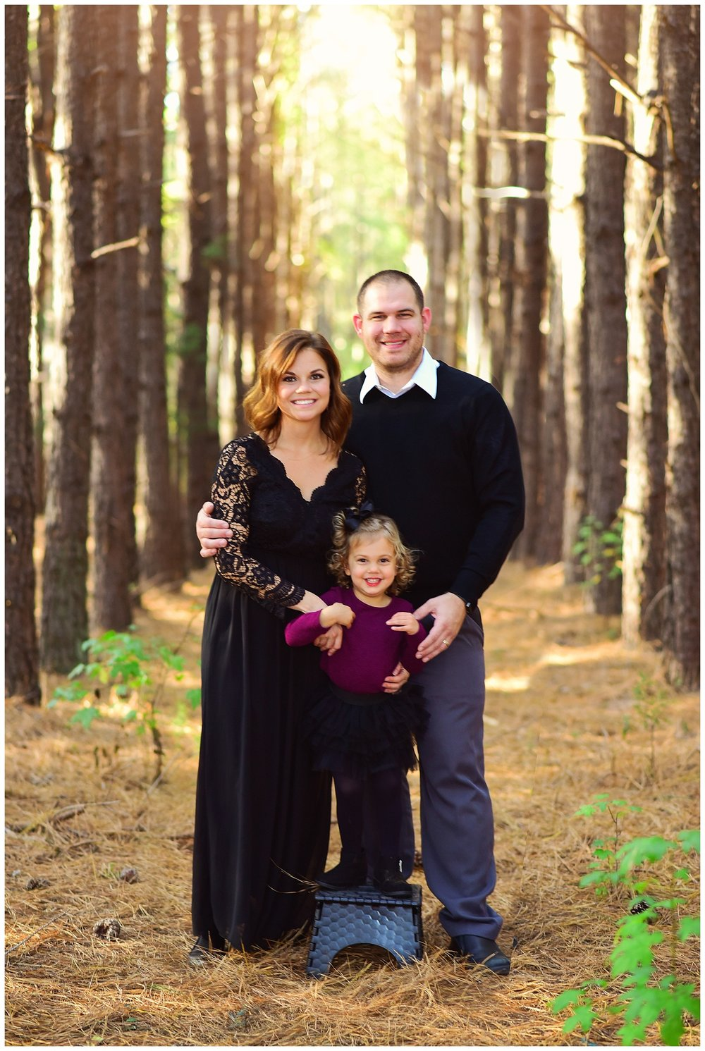 Tree Farm family portraits