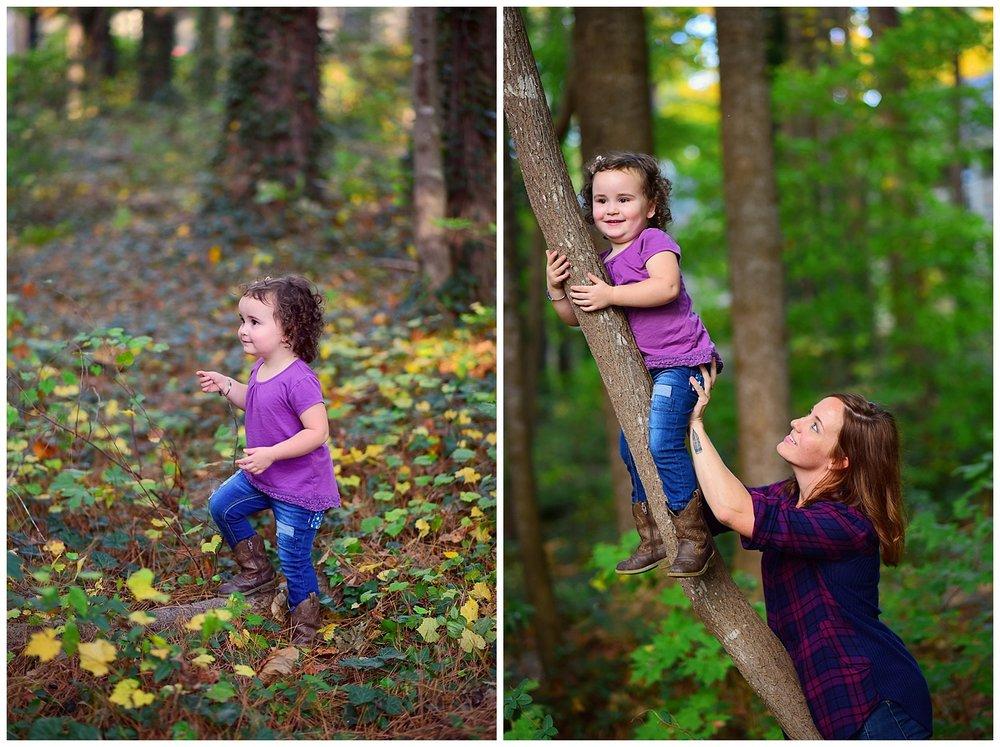 Fall at Lake Johnson Park