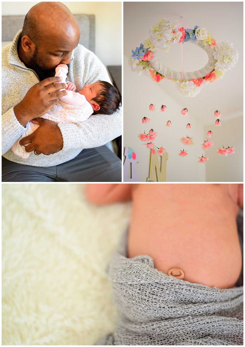 Newborn home photography