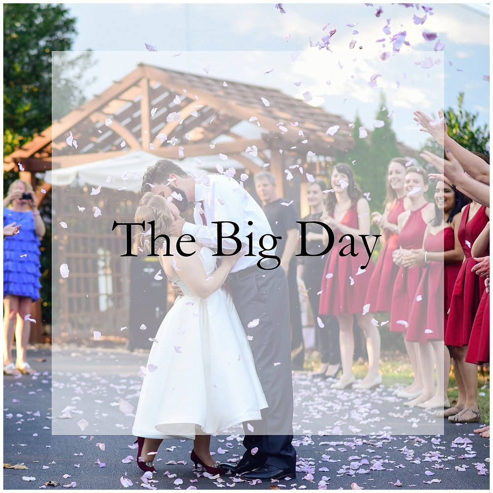 what to do the day of your wedding
