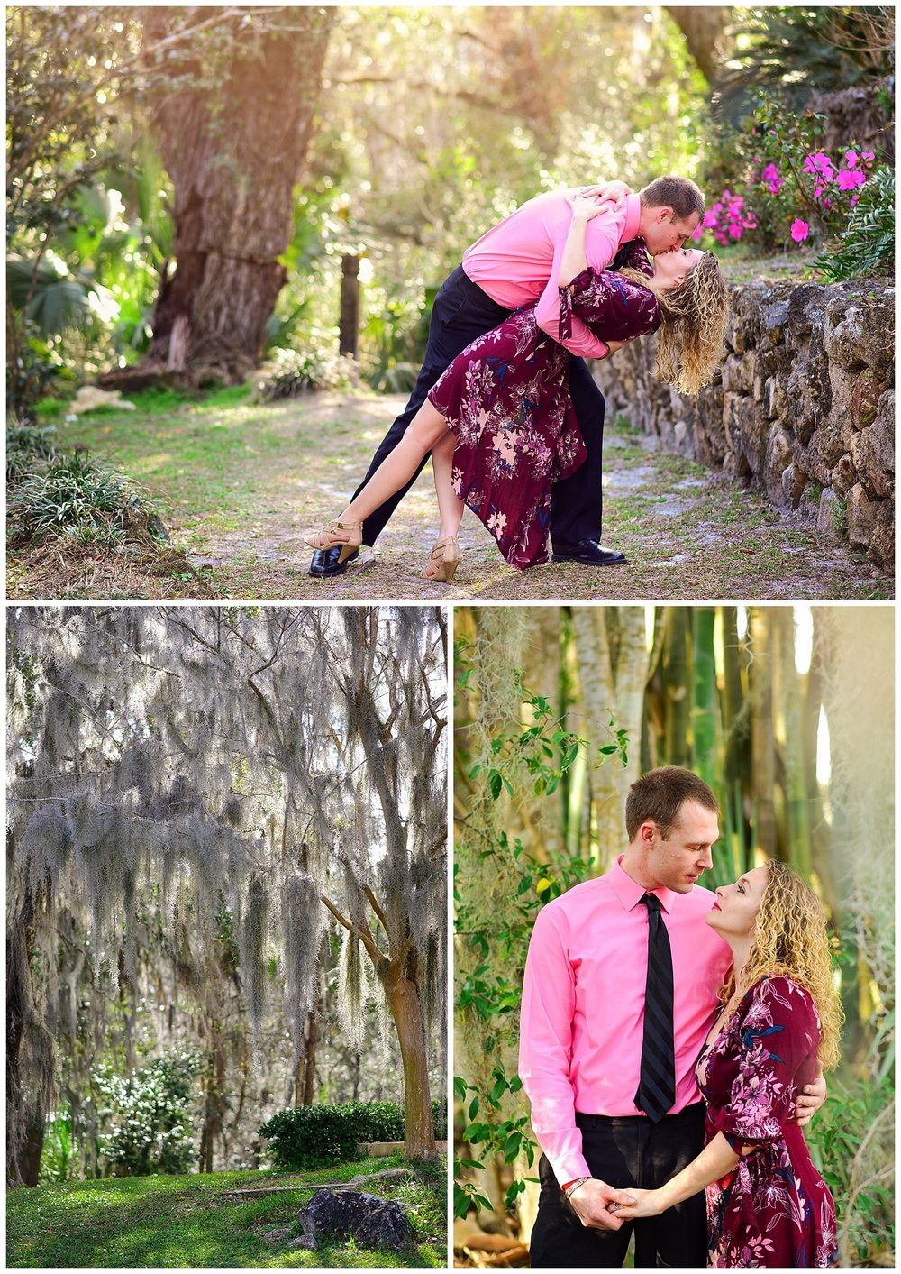 Engagement Photos at Ravine Gardens
