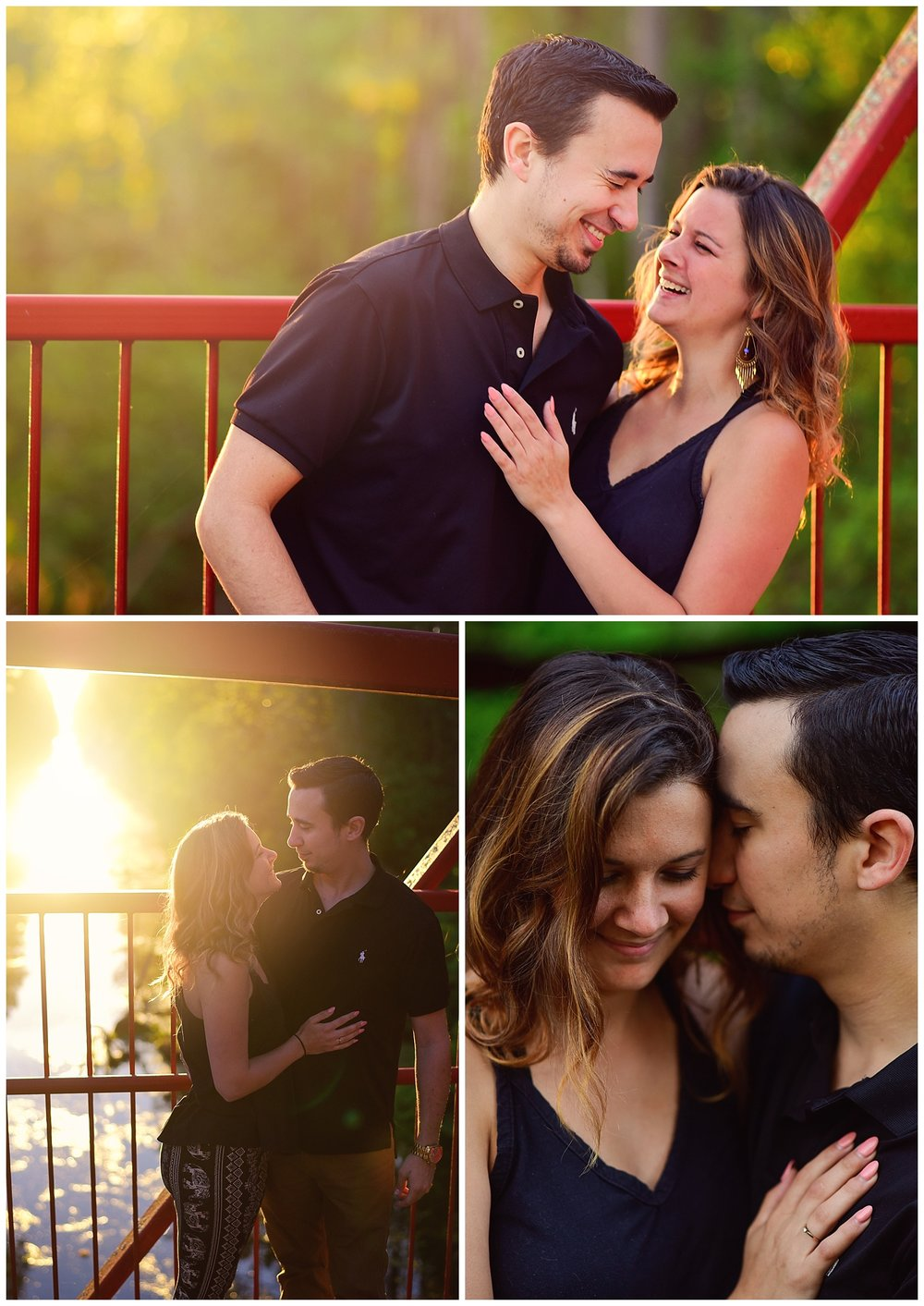 Palm Coast Florida couple portraits