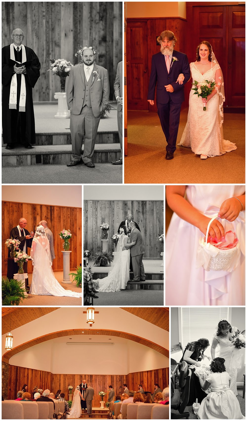 Banner Elk Christian Fellowship Wedding
