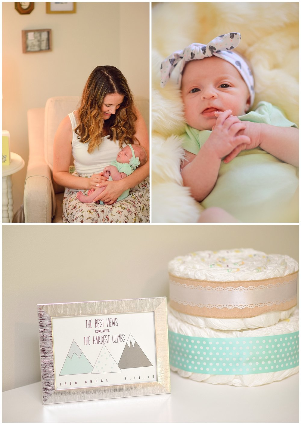 Newborn lifestyle shoot