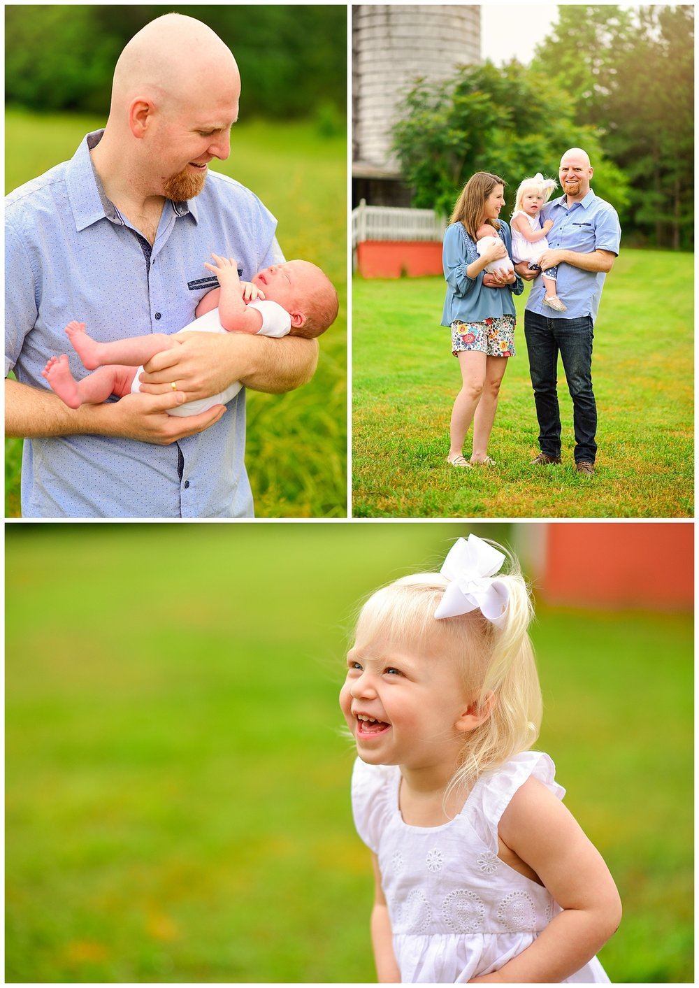 newborn session at snipes farm retreat