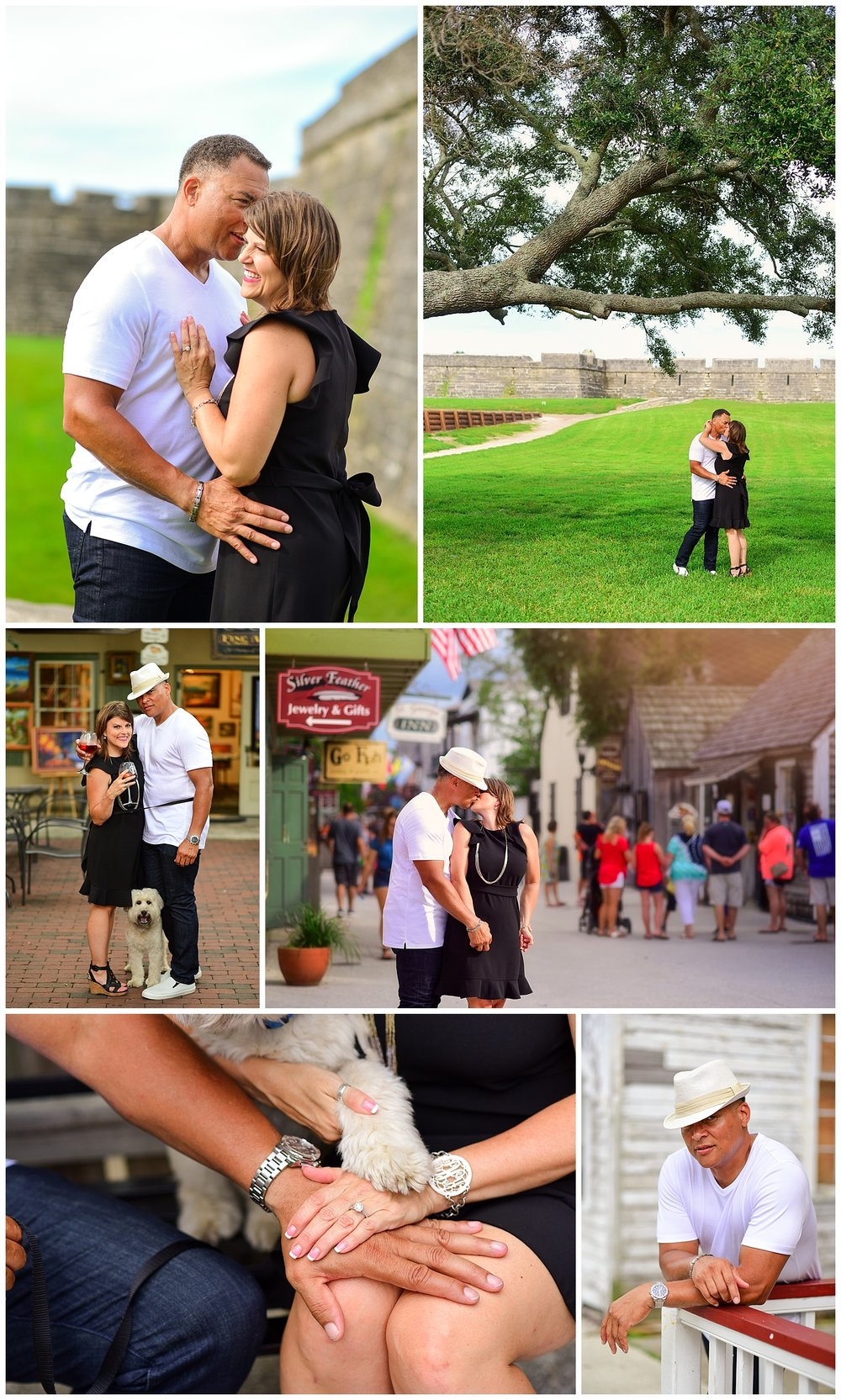 St. Augustine Engagement photos