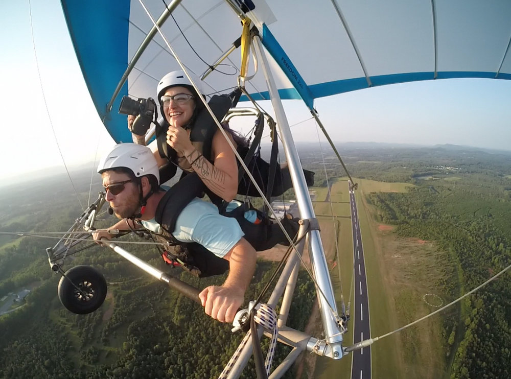 hang gliding photographer