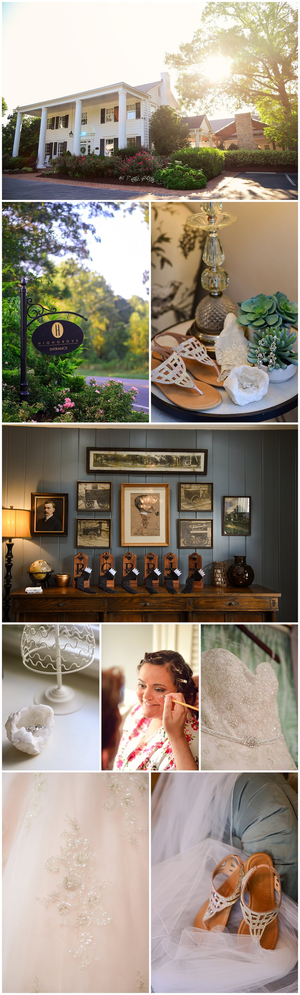 Highgrove Estate Wedding Details
