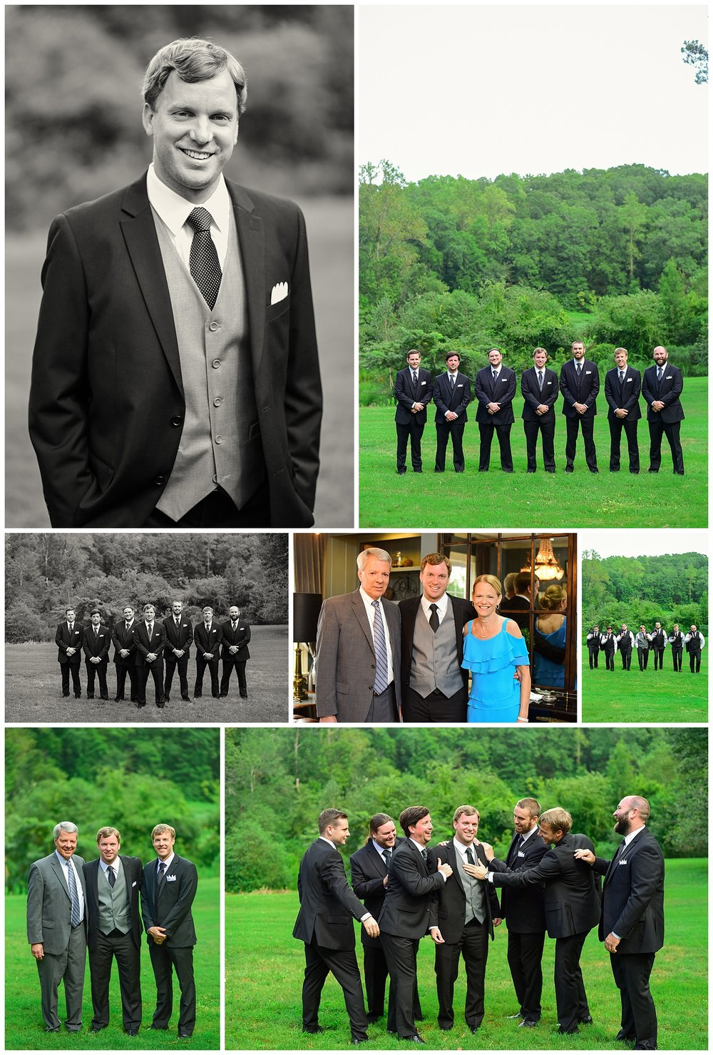 Highgrove Estate Wedding Party