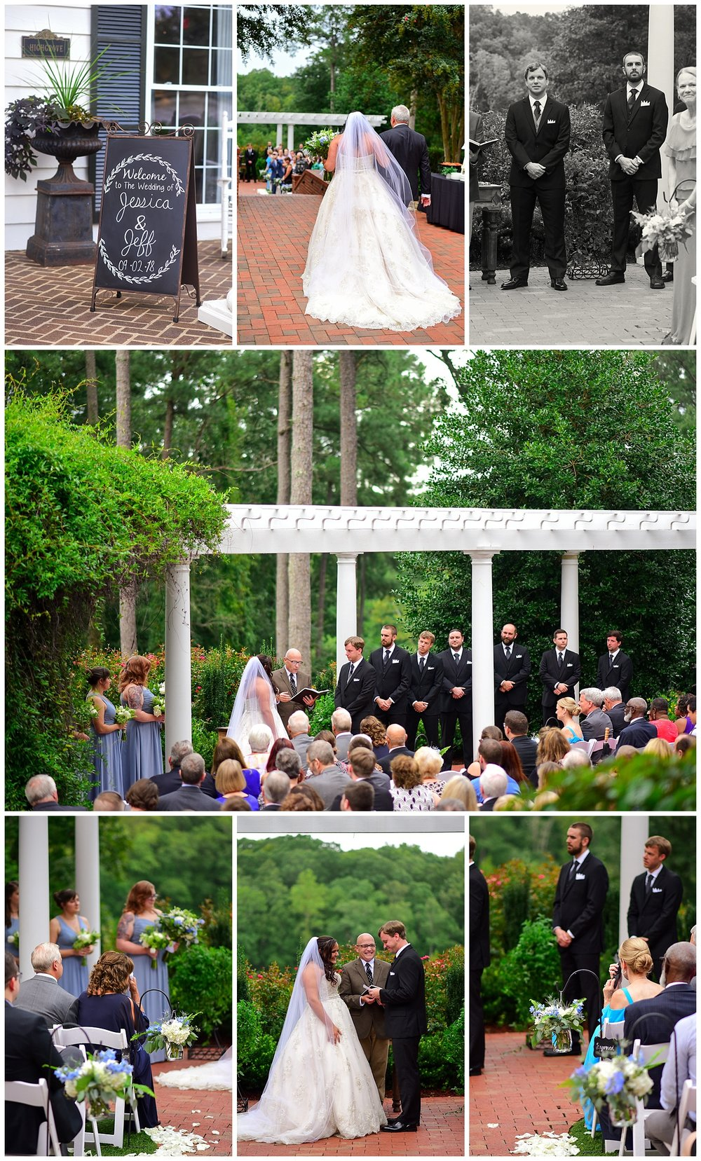 Highgrove Estate Outdoor Wedding Ceremony