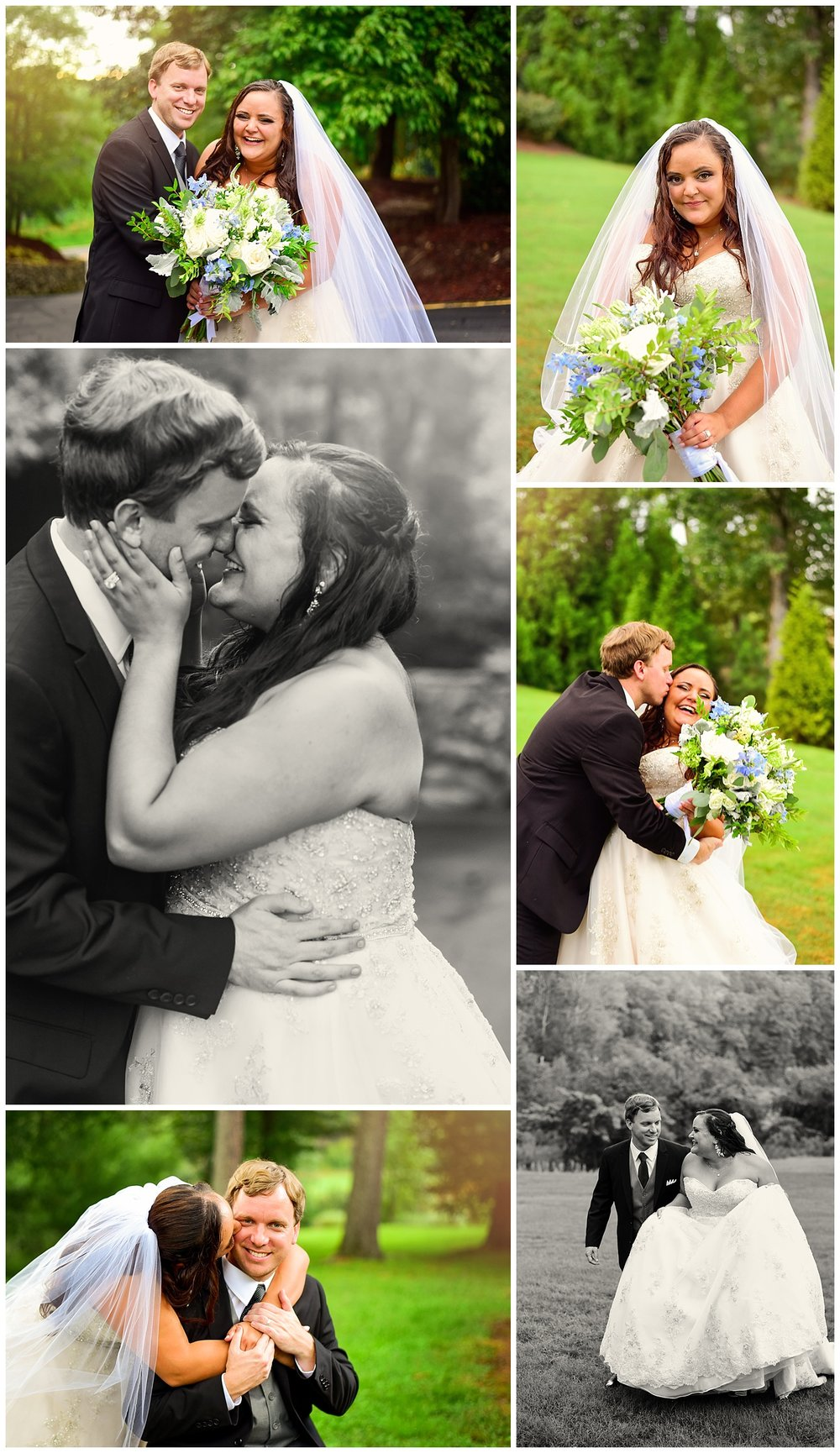 Highgrove Estate Bride and Groom Portraits