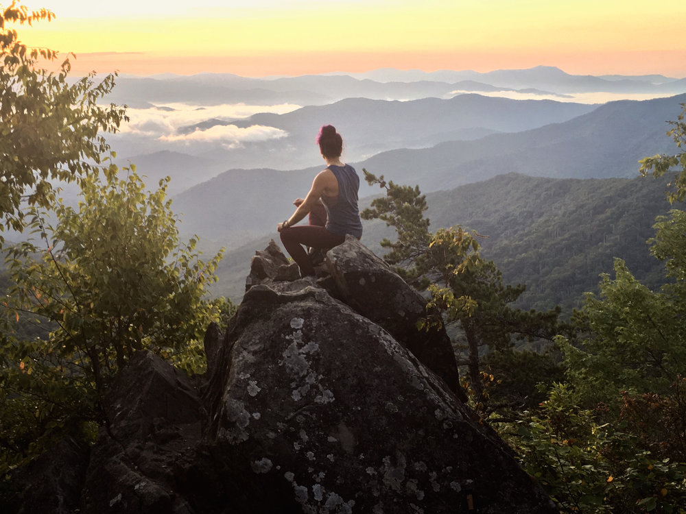 Female Appalachian Trail Solo Hiker