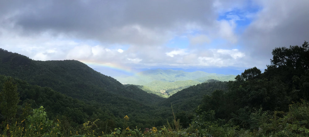 Rainbow on the Appalachian Trail