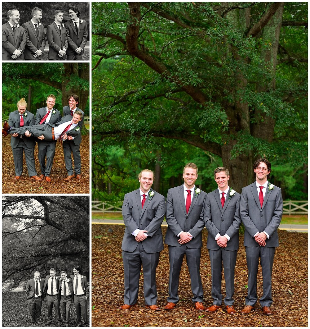 Oaks at Salem navy and burgandy Wedding