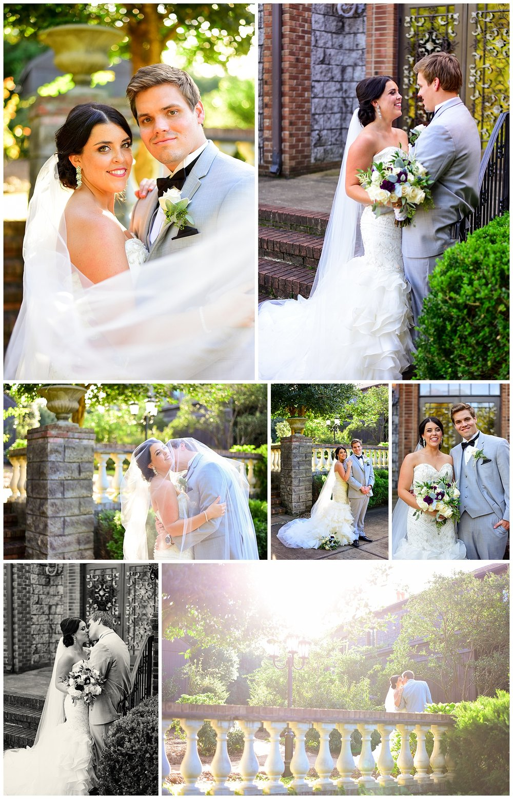 Wedding at Barclay Villa in Angier NC