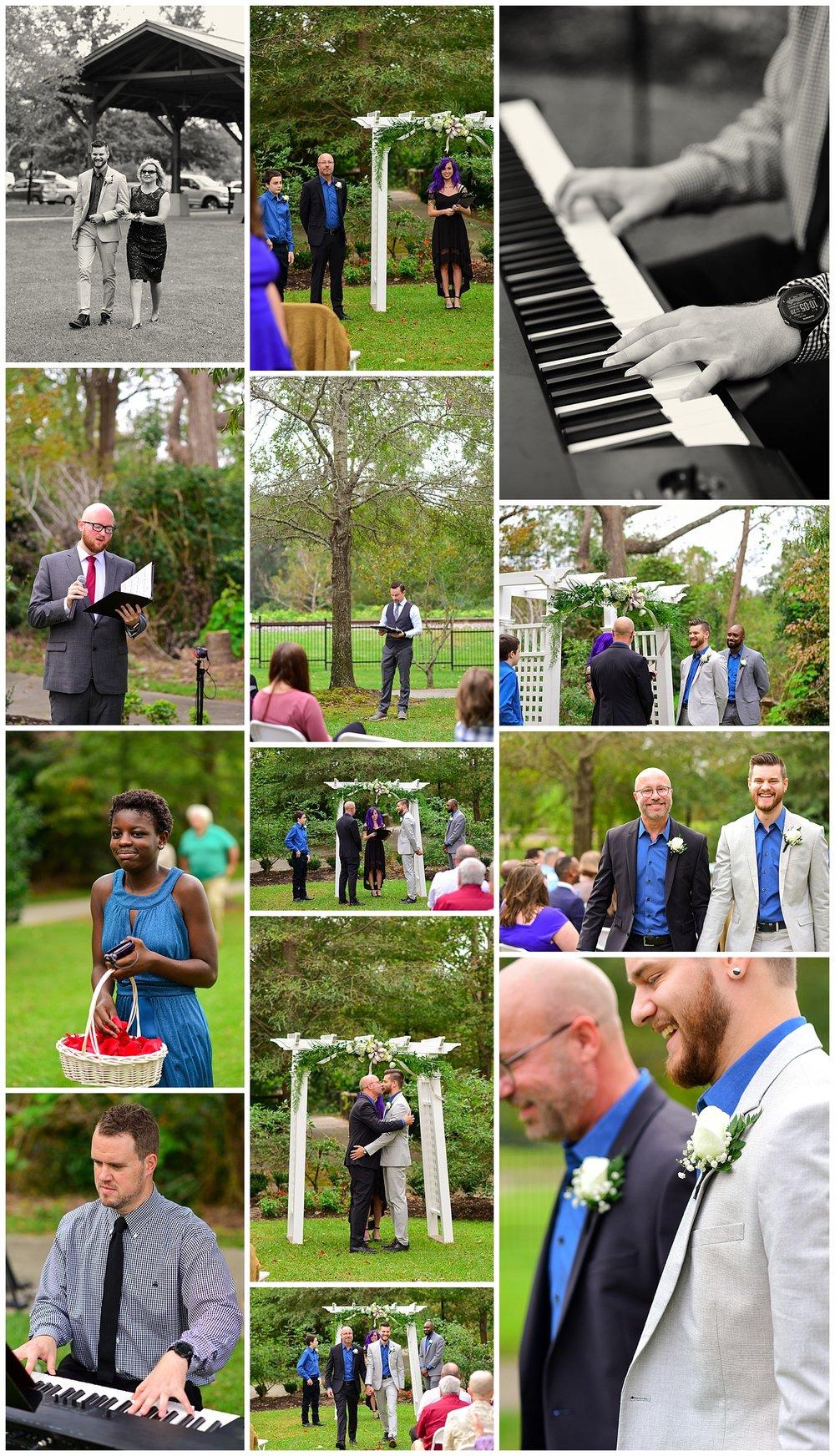 Lgbtq wedding in Hamlet NC