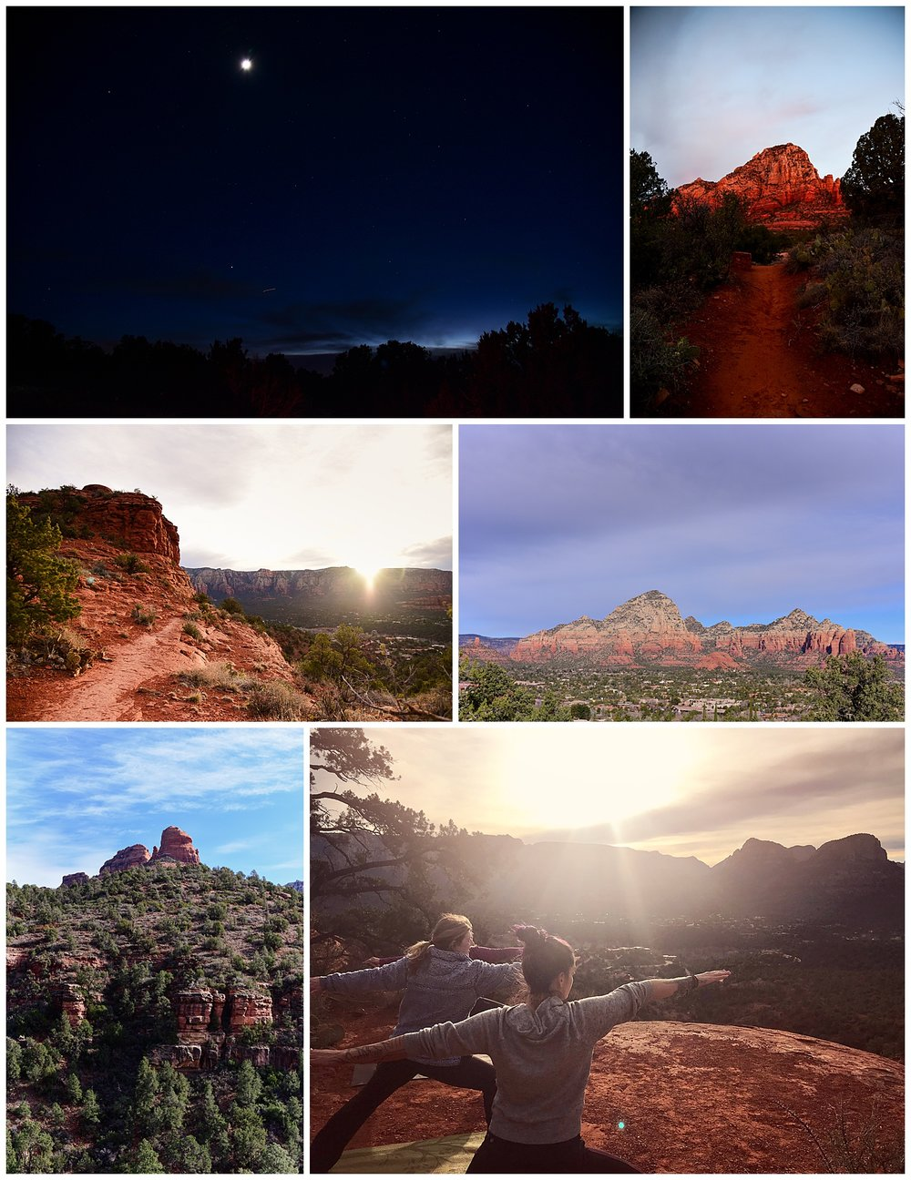 Sedona Sunrise Yoga Session