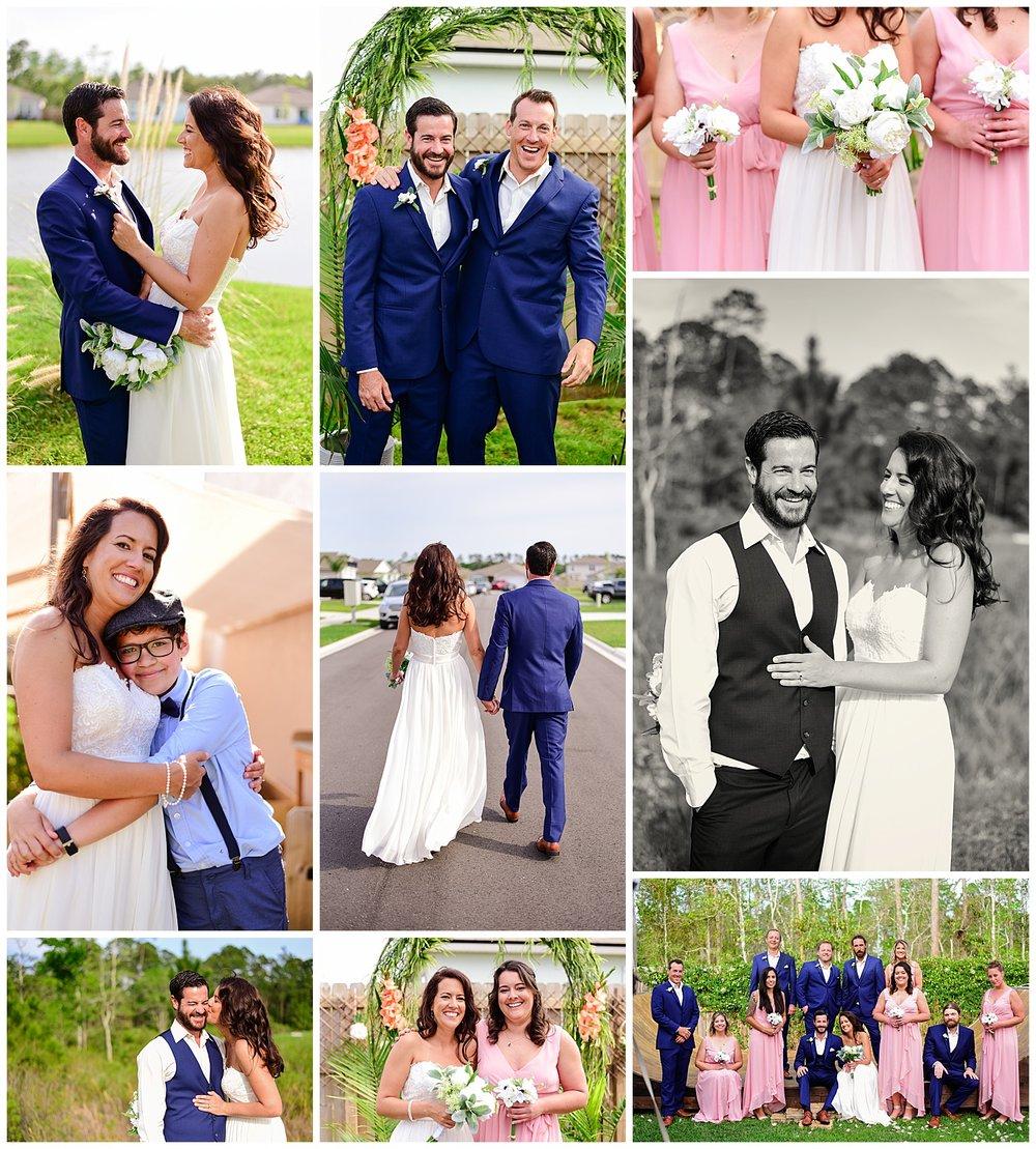 Backyard Wedding in St. Augustine Florida