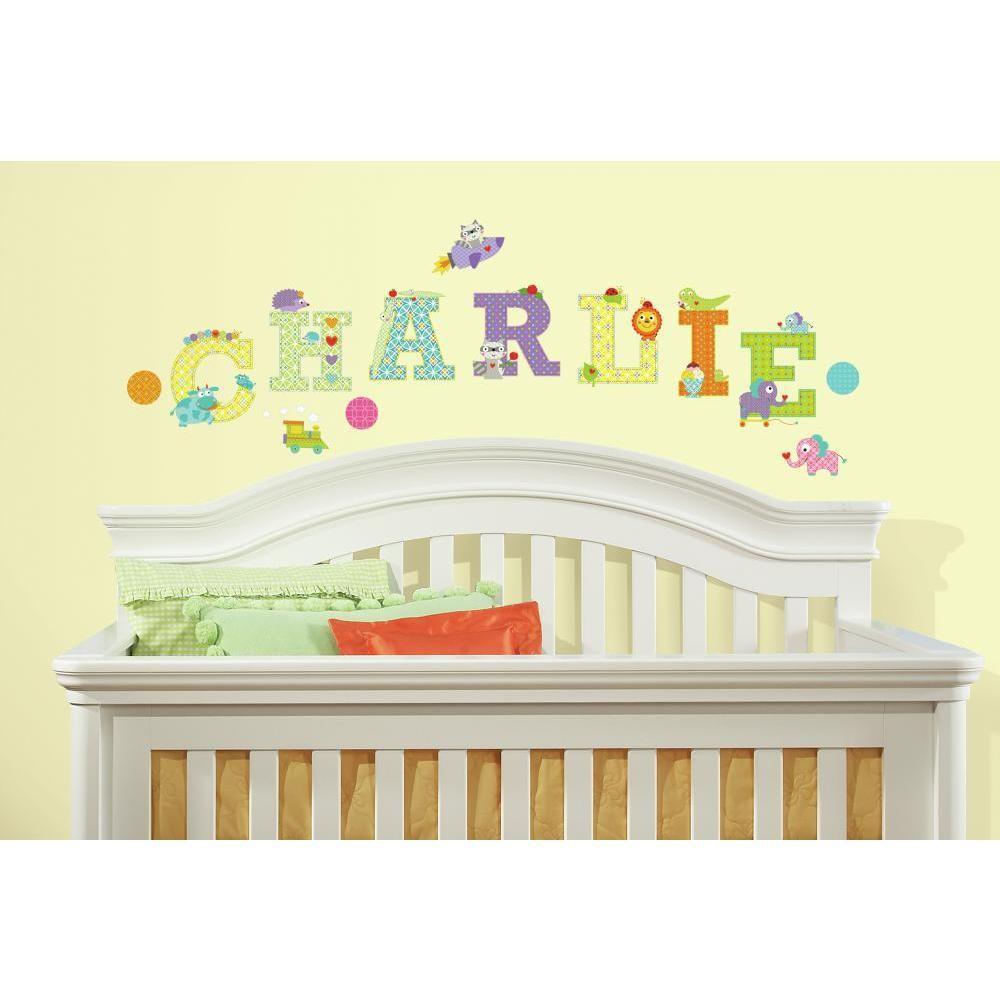 Alphabet Wall Stickers For Nursery - [hdwallpaperblog.com]