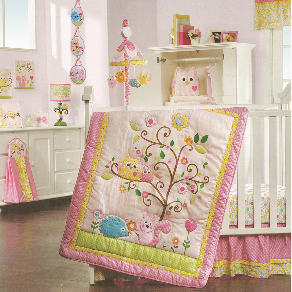 Happi Tree 8-Piece Crib Bedding Set