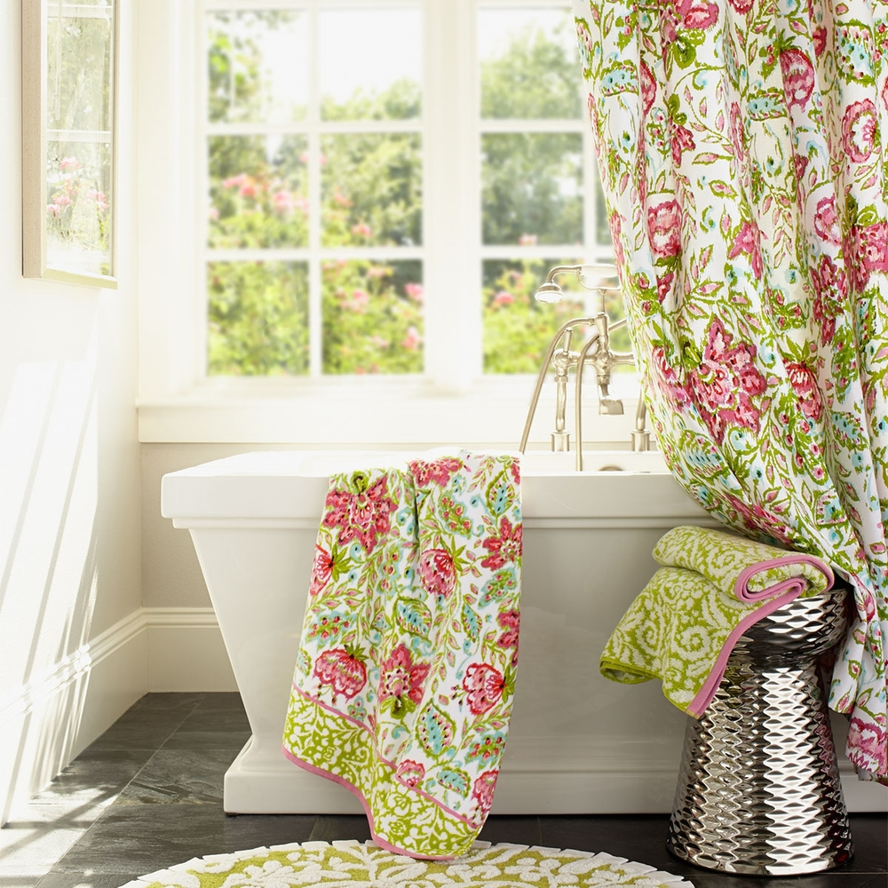 Dena Home Floral Ikat Bath Collection