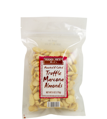 Truffle Marcona Almonds Photo from Trader Joe's