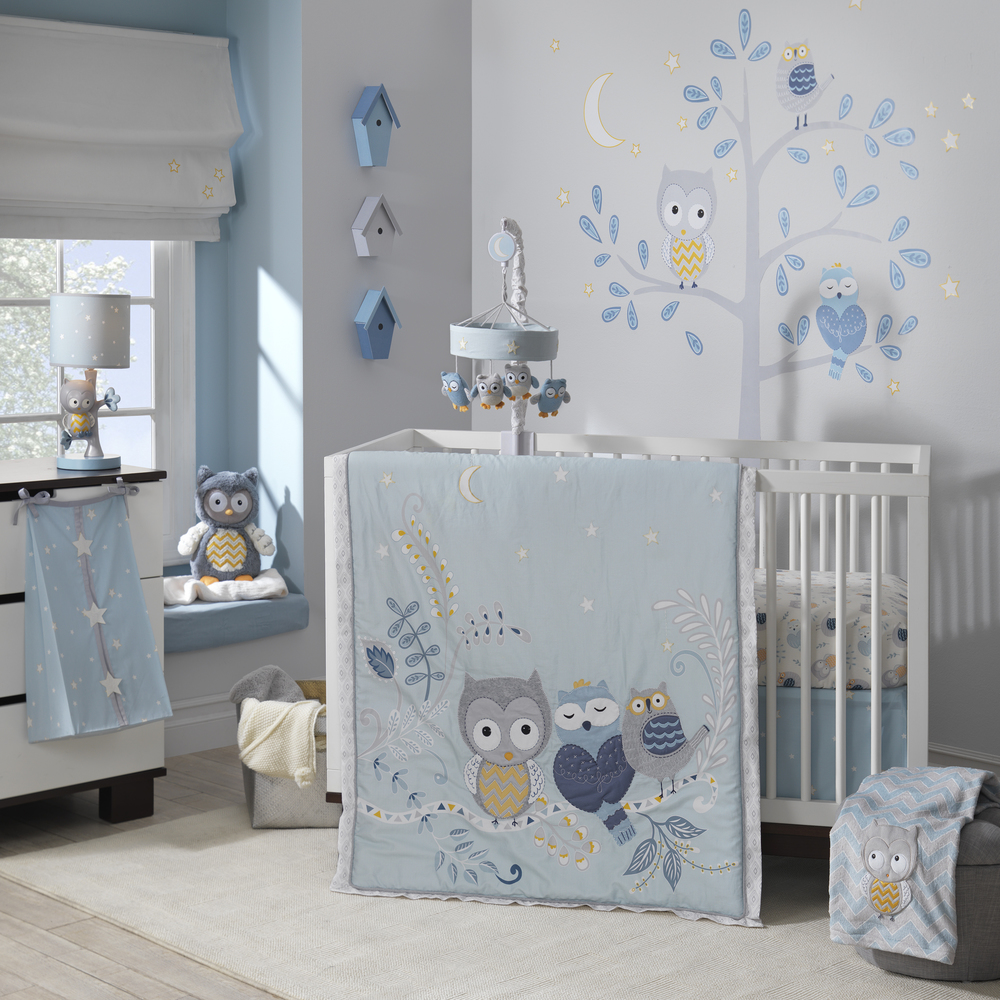 happi by Dena Night Owl Baby Bedding