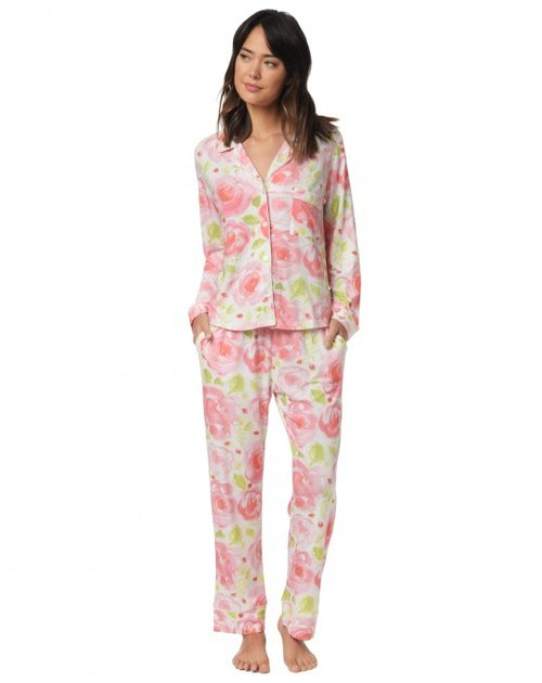 681370a797 Bella Rosa Long-Sleeved Knit Pajamas. bella rosa pajama logan-540x680.jpg