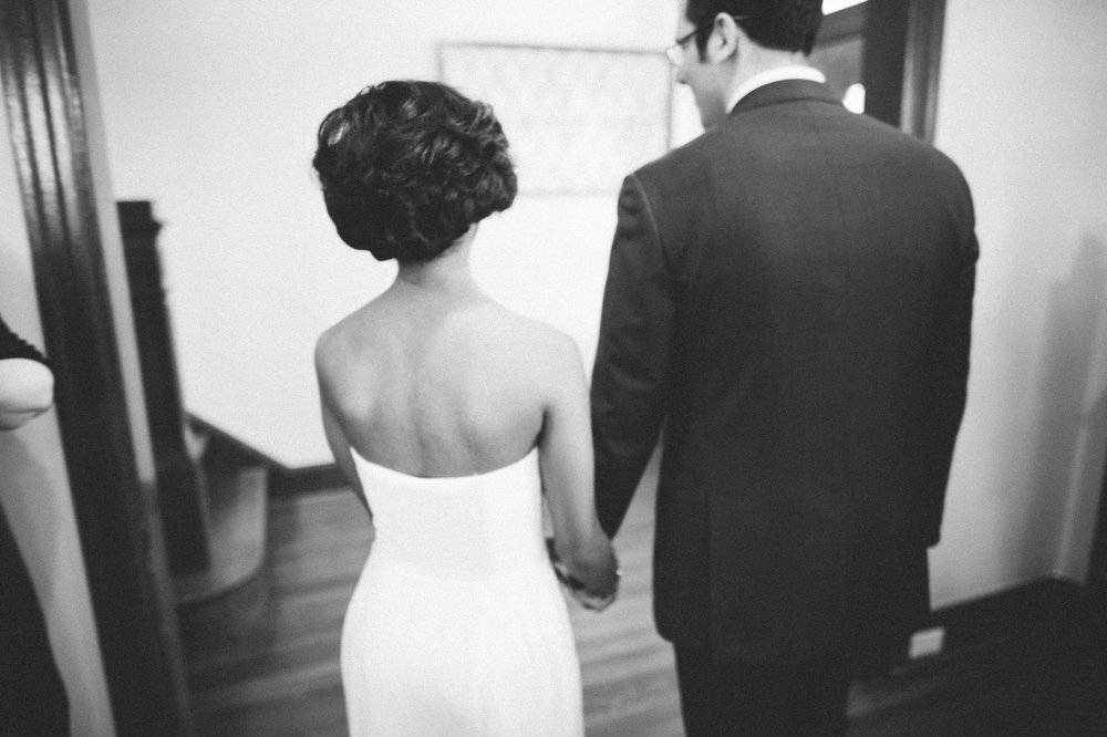 Intimate D.C Wedding