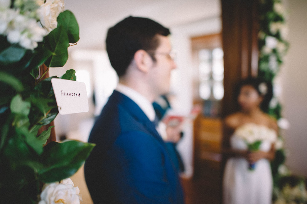 Washington DC House Wedding