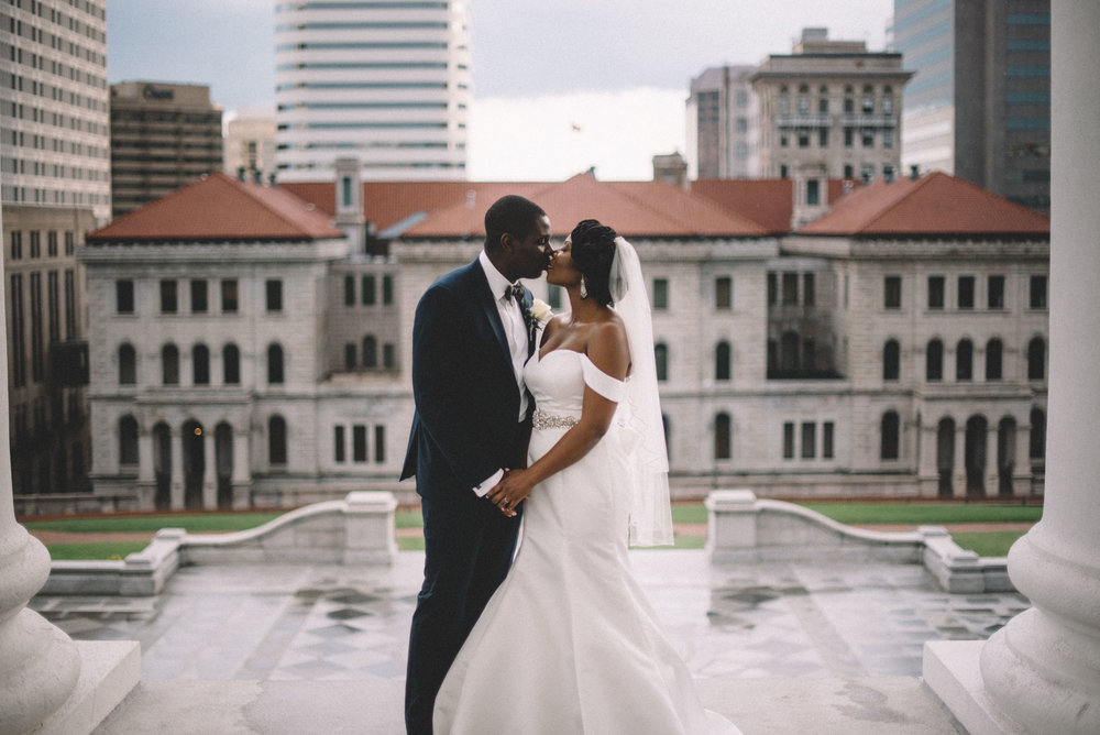 Virginia State Capitol Wedding