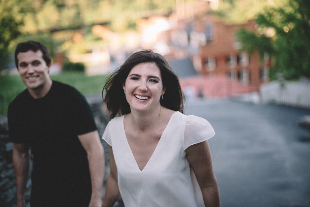 Harpers Ferry engagement session by Virginia wedding photographer
