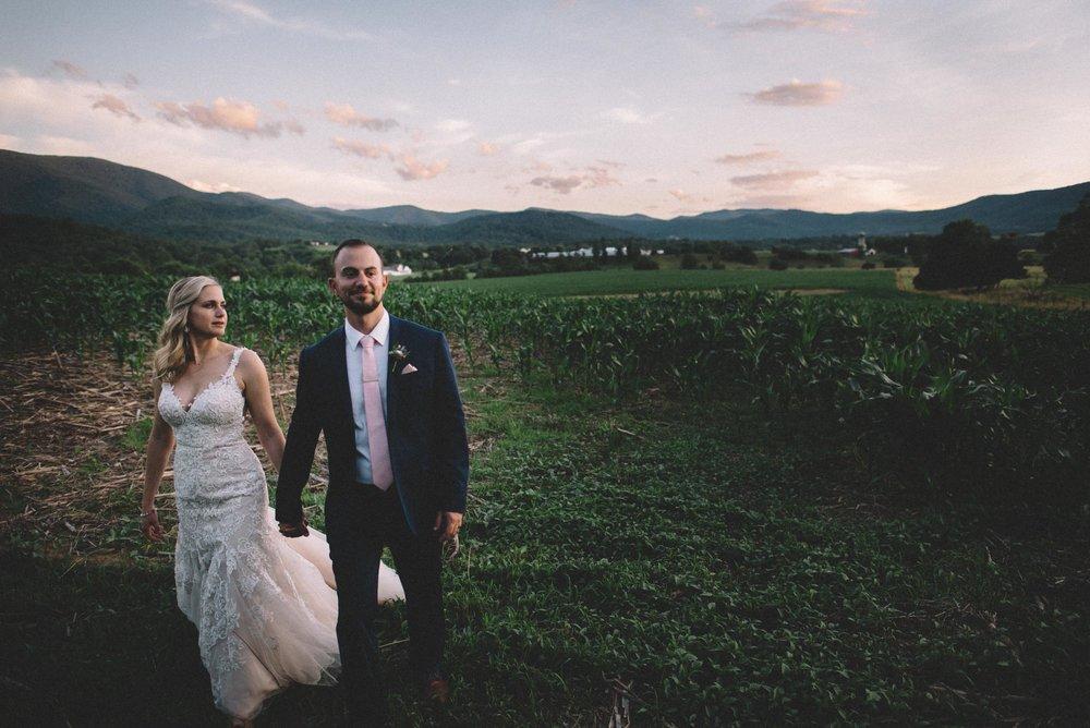 Shenandoah Woods Wedding in Stanley, Virginia
