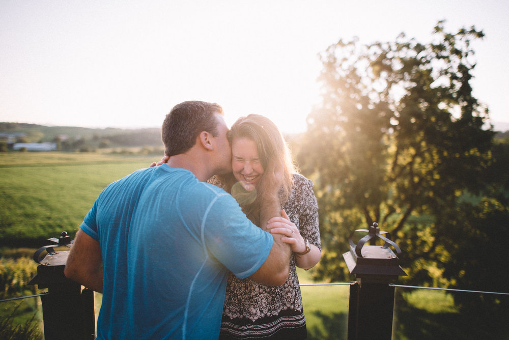Bluestone Vineyard Engagement Session