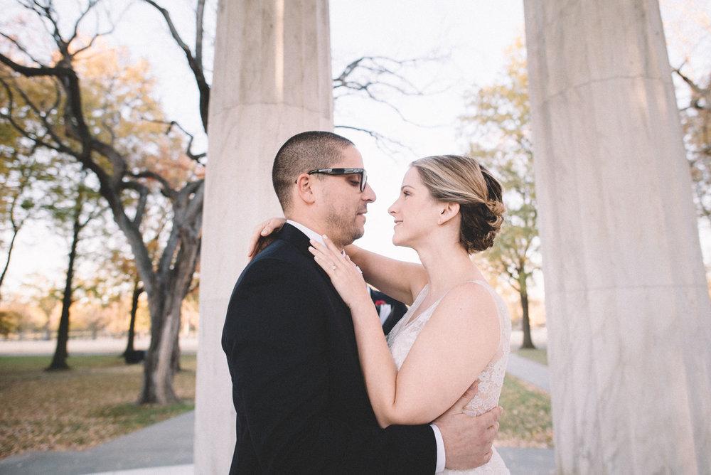 DC War Memorial Wedding