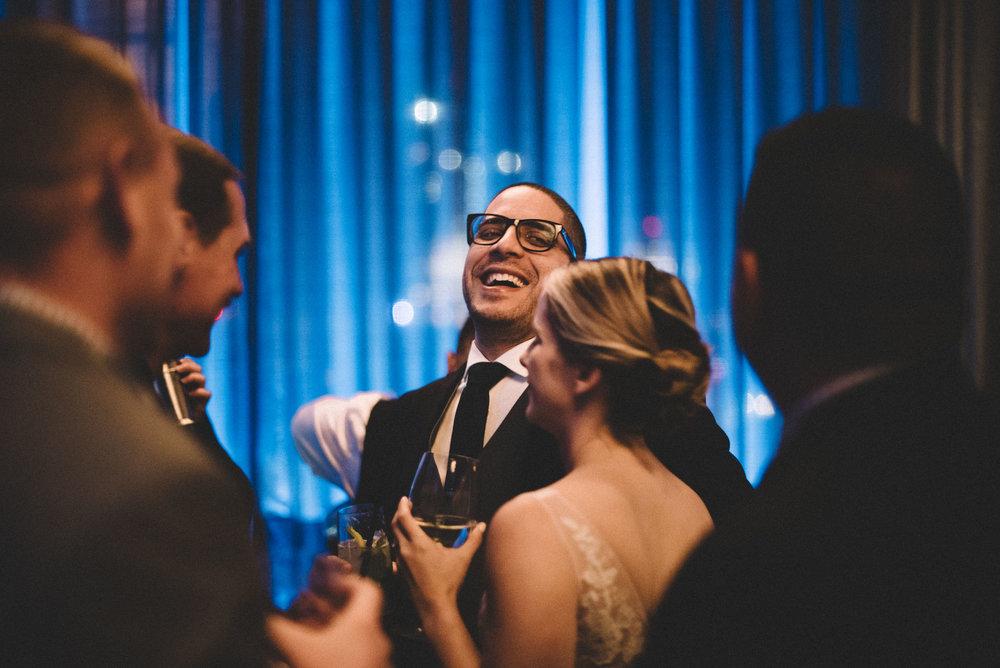 Eddie V's wedding reception
