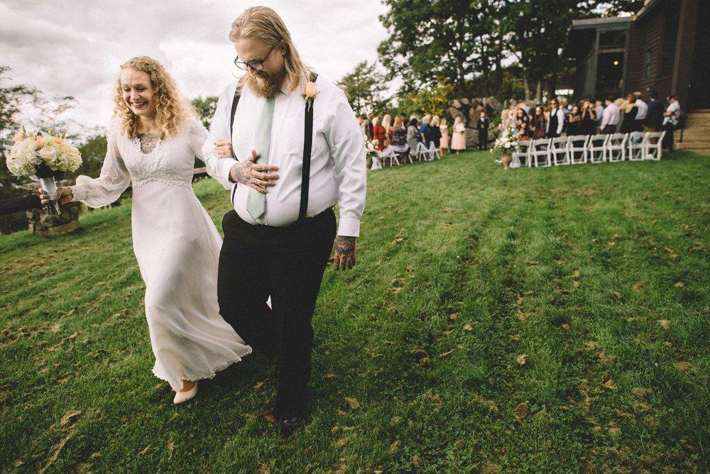 Skyland resort wedding
