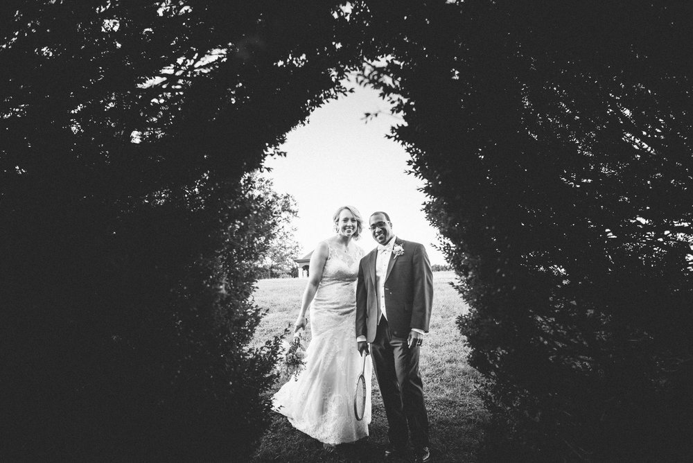 Wedding at Gate Lea in Staunton, Virginia.