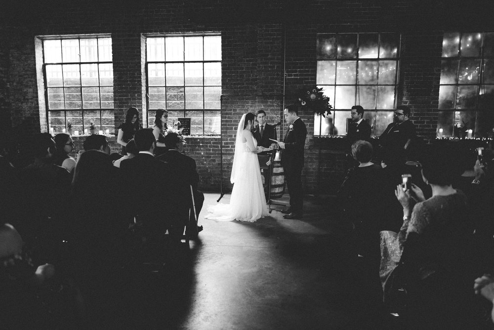 McClintock Distilling Wedding