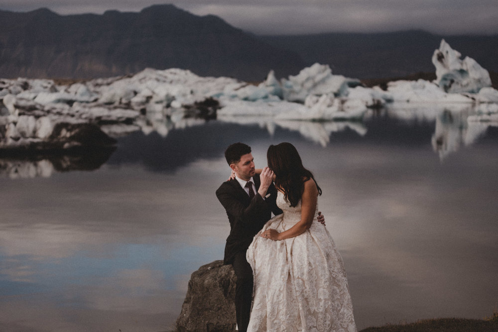 An After wedding/Honeymoon session in Iceland.