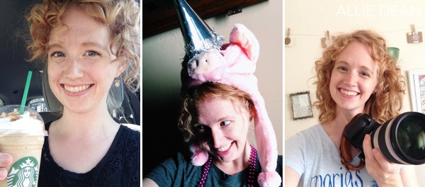 Double-header wedding weekends require coffee ::Nanny jobs require pig & party hats :: New lenses require a photo