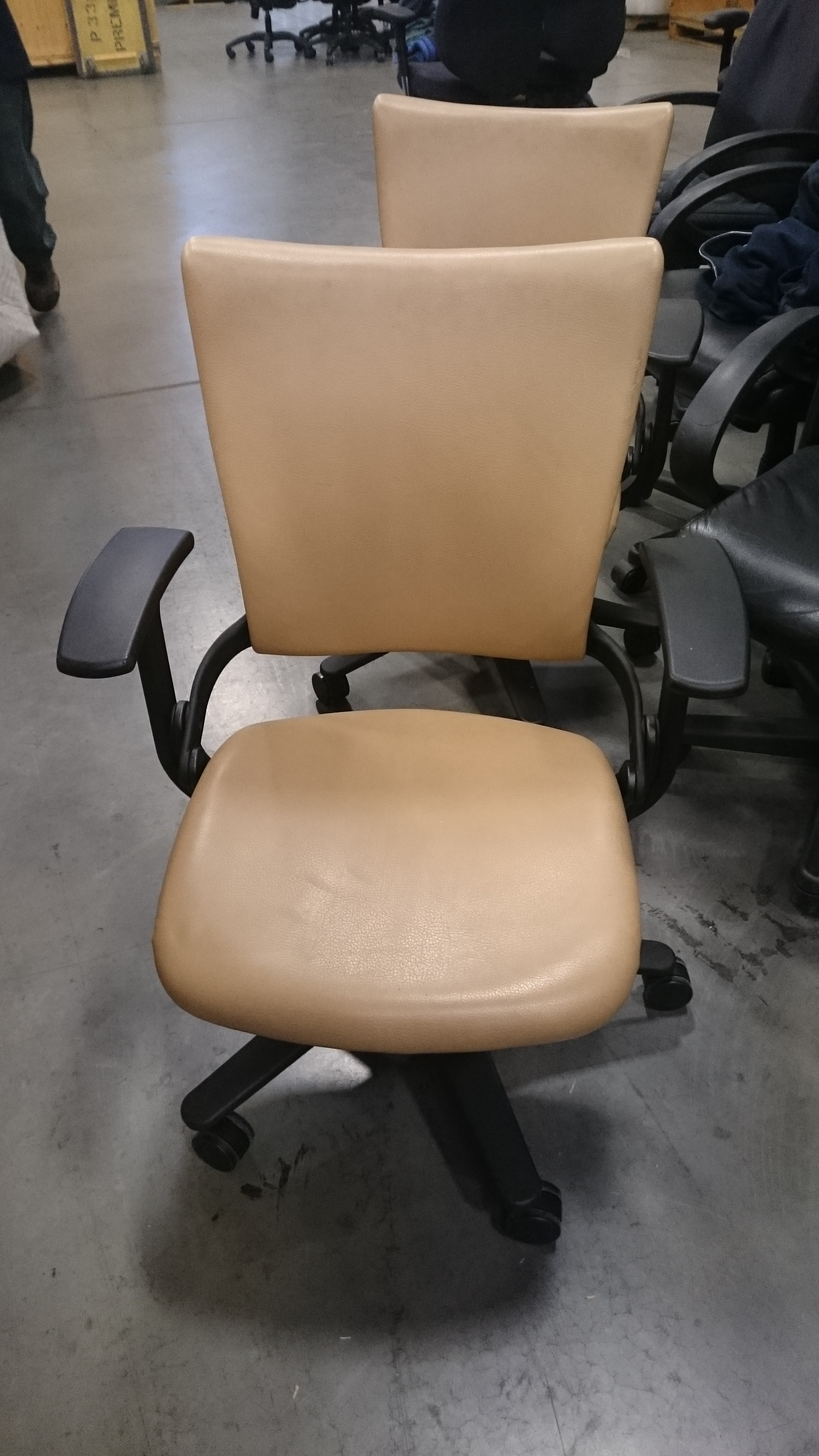Allsteel Sum Leather Premiere Used Office Furniture