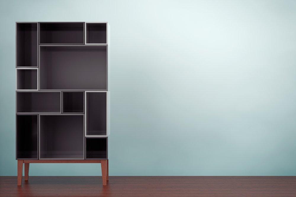 Bookcases - Short, Medium & Tall